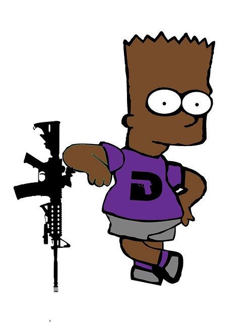 Black Bart sticker