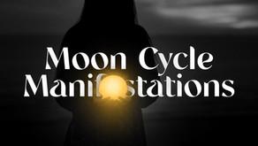 Moon Cycle Manifestations