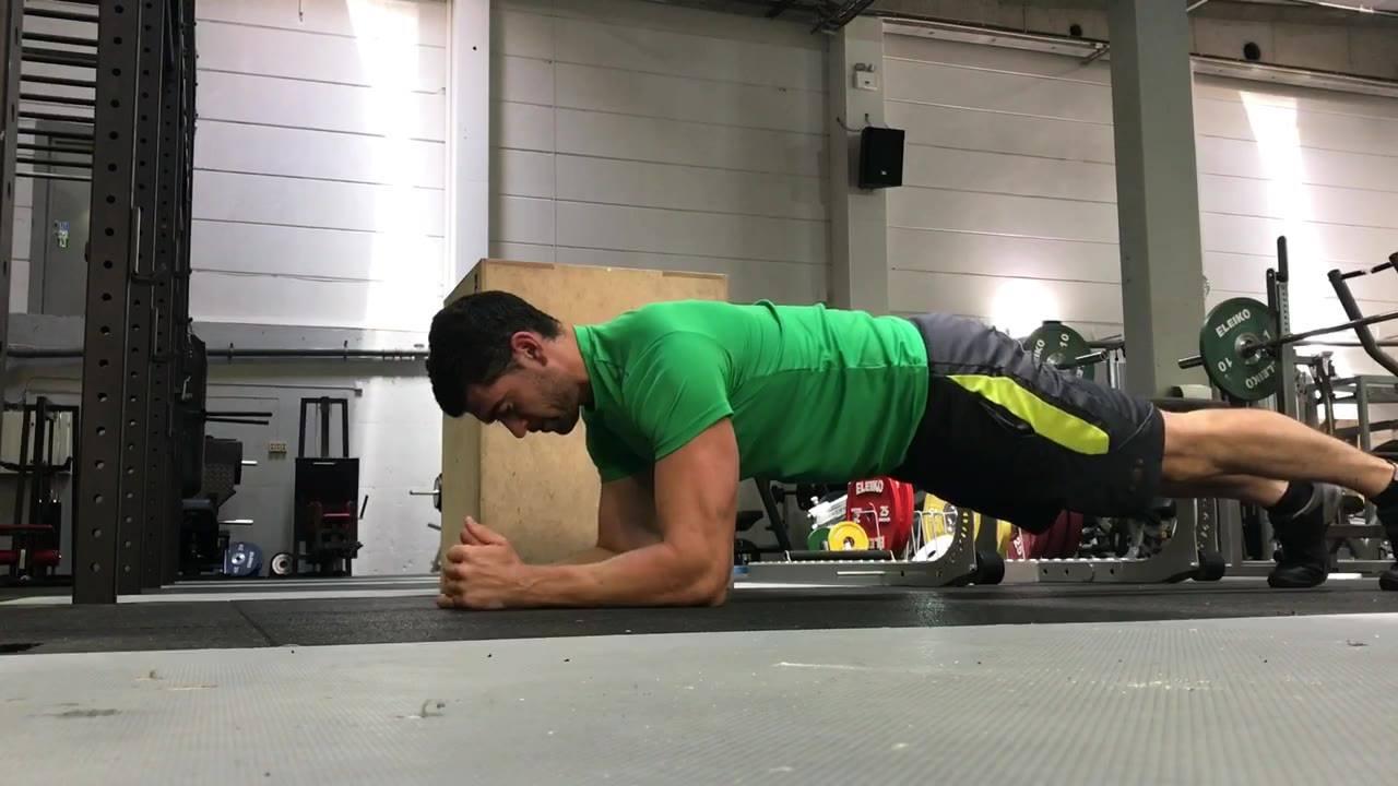 Planke Variasjon - hvor stopper det opp for deg?