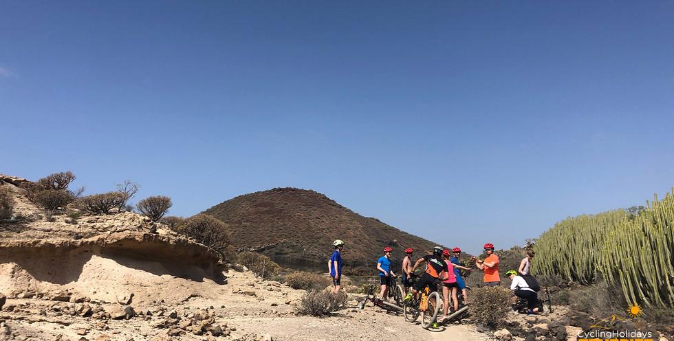 mountain bike tenerife tours for groups.