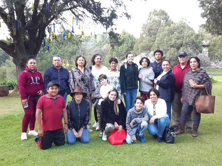 Viaje a Tlalpujahua con nuestra presidenta de APF