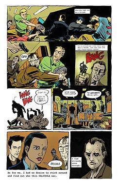 BZRK Comic Example