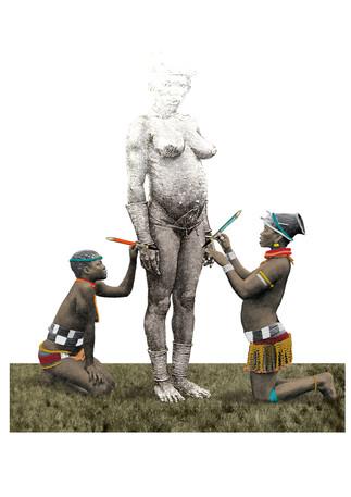 Africanizar: de colores muy vivos