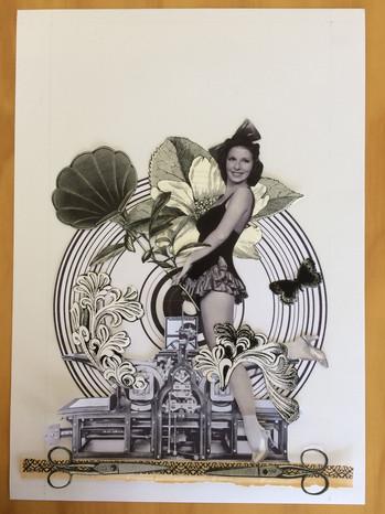 Collage y risografía