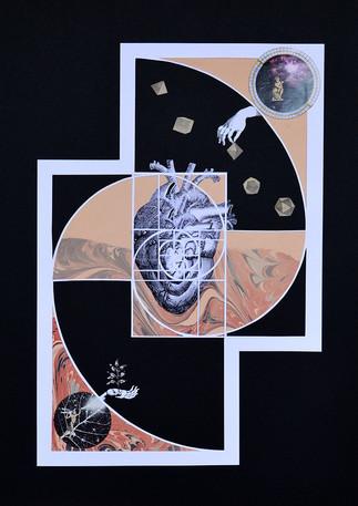 Espiral. de la serie Geometría Sagrada