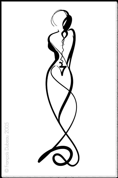 Calligraphique 9