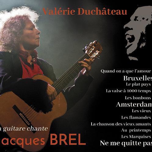 La Guitare chante Jacques Brel-Digipack+Livret