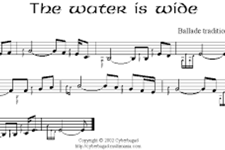 Facile-The water is wide-Traditionnel