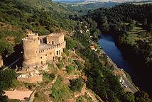 Le château de Chouvigny