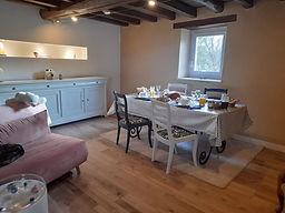 salle petits déjeuners domaine pastel Be