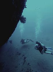 wreck diving st eusatius