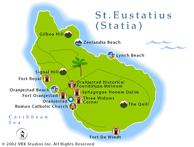 The island of Sain Eustatius has an impressive historical past, you can learn more by walking the streets of the old town, visiting Fort Oranje overlooking the bay and why not take a walk to the history museum.