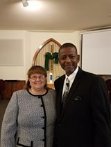 Pastor Clarence and Rebecca