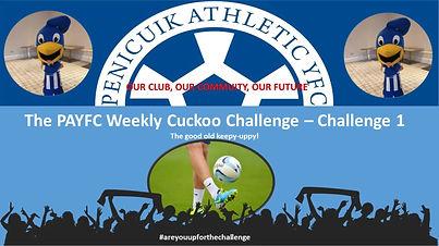 Challenge 1!