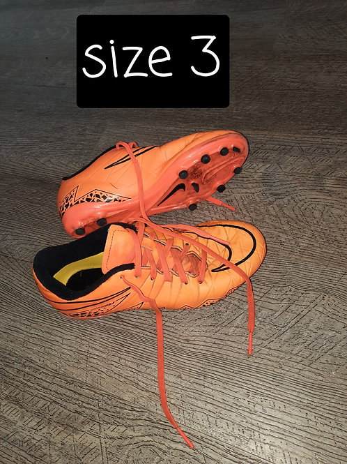Size 3 boots - orange