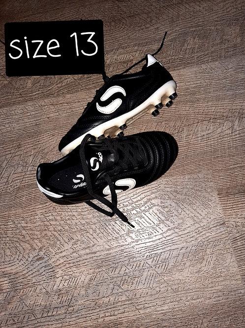 Size 13 boots - black