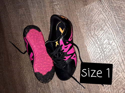 Size 1 - pink and black