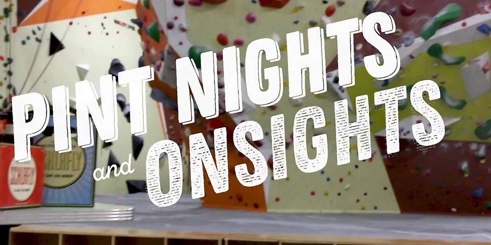 Onsights and Pint Nights Fundraiser Series