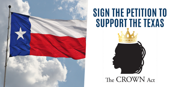 BRILLIANT IN COLOR JOINS CAMPAIGN FOR THE TEXAS CROWN ACT
