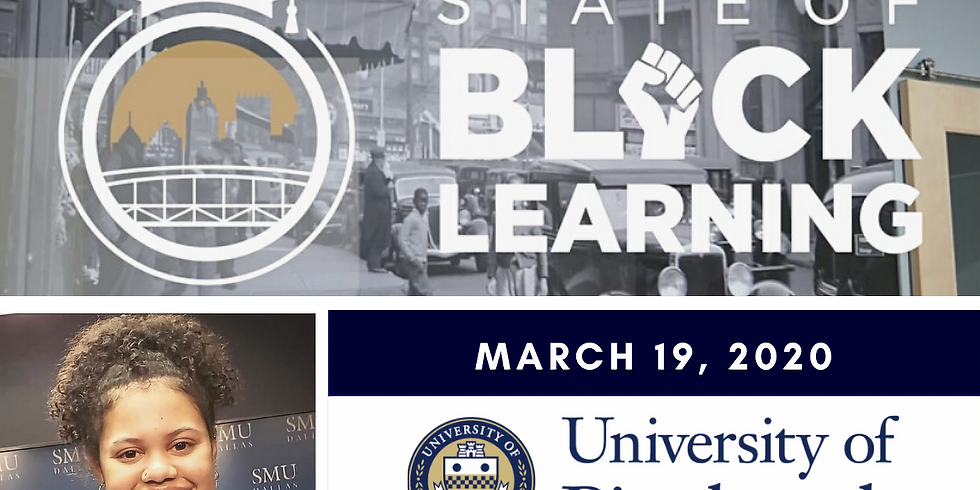 The State of Black Learning UnConference - POSTPONED