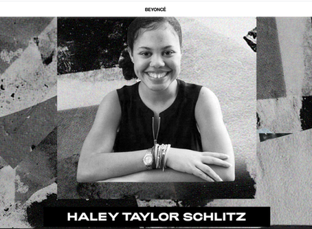 BEYONCE HONORS HALEY TAYLOR SCHLITZ FOR BLACK HISTORY MONTH