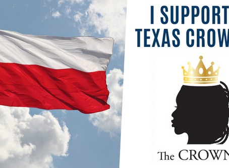 THE CROWN ACT COMES TO TEXAS
