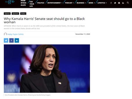 Why Kamala Harris' Senate seat should go to a Black woman