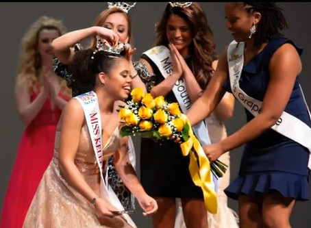 HALEY TAYLOR SCHLITZ CROWNED MISS KELLER OUTSTANDING TEEN 2020