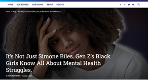It's Not Just Simone Biles. Gen Z's Black Girls Know All About Mental Health Struggles.