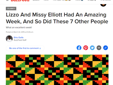 Lizzo And Missy Elliott Had An Amazing Week, And So Did These 7 Other People