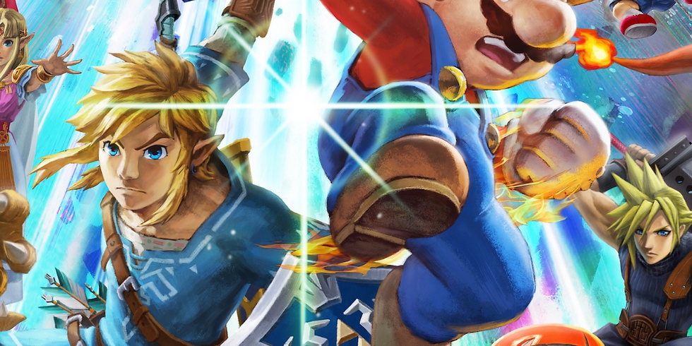 Super Smash Bros. Ultimate Tournament - Open To All Ages April 24, 2019