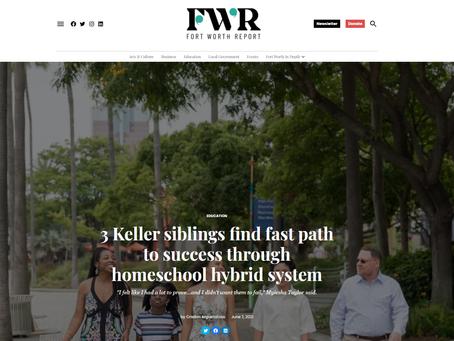 3 Keller siblings find fast path to success through homeschool hybrid system