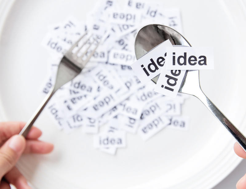 la idea, proceso mental