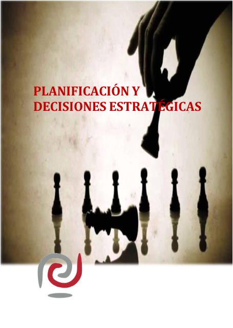 manual Planificación y decisiones estratégicas