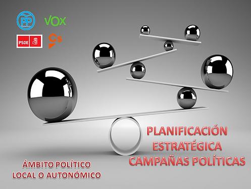 planificación estratégica de campañas electorales