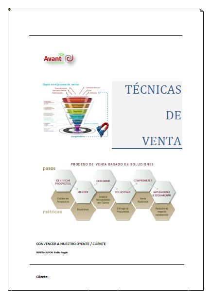 manual técnica de ventas