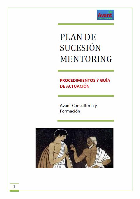 Plan de sucesión mentoring