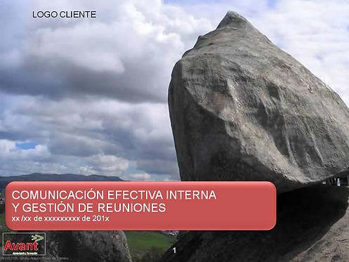 Comunicación interna y Gestión de reuniones