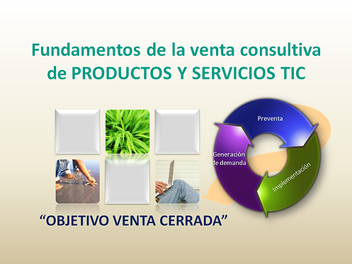 curso Fundamentos de venta consultiva de las TIC