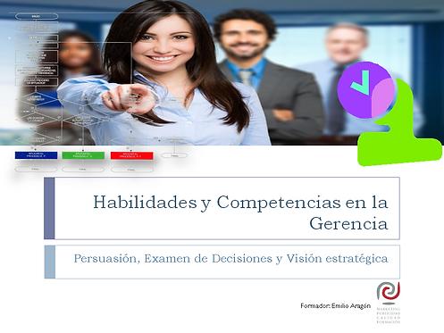 curso habilidades y competencias en la gerencia