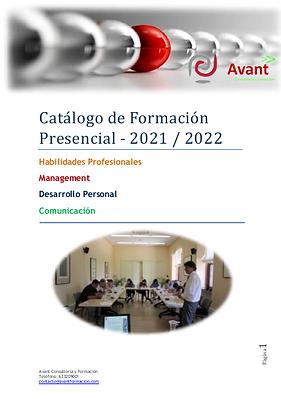 catálogo cursos presenciales 2021-22-Ava