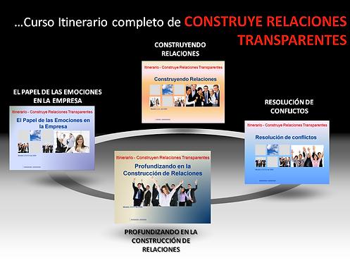 Construye relaciones transparentes