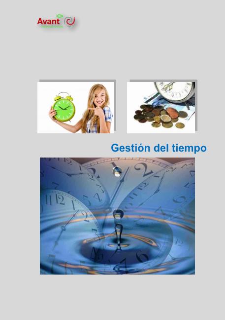 manual gestión del tiempo