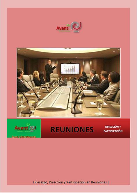 manual para la gestión y liderazgo de reuniones