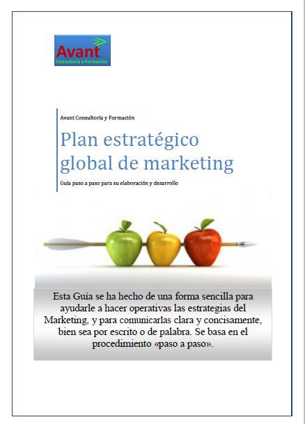 manual para el desarrollo del plan de marketing estratégico
