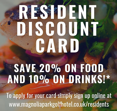 Magnolia Park Local Residents Discount Card