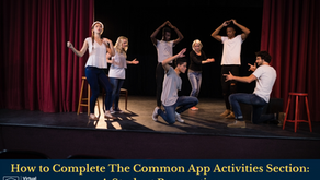 How to Complete The Common App Activities Section