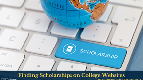 Finding Scholarships on College Websites