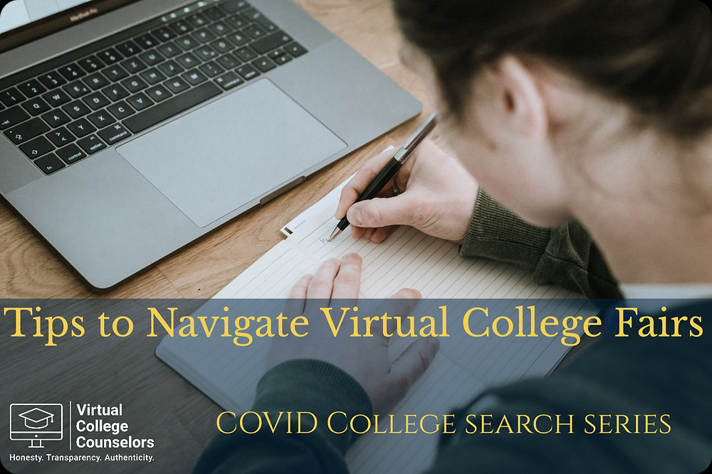 Tip to Navigate Virtual College Fairs