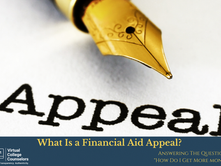 What Is a Financial Aid Appeal?